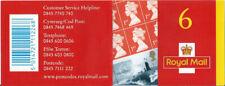 Gb Booklet 2001 Pm2 - 6 x 1st Class - Submarine Service Centenary