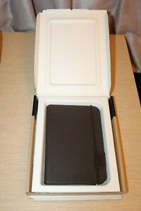 Genuine Amazon Brown Leather Cover Case for Kindle Keyboard Model D00901 3rd Gen