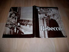 Klemmer: Rebecca  von Hitchcock mit JOAN FONTAINE