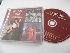 THE JONES GIRLS : THE JONES GIRLS / AT PEACE WITH WOMAN CD ALBUM EDSEL OOP 2005