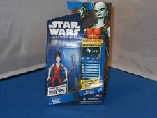 Star Wars The Clone Wars Aurra Sing Galactic Battle Game Action Figure NMOSC!