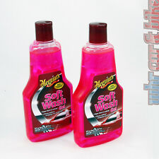 2x Meguiars shampooing voiture soft wash Gel shampoing 473ml