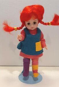 "2000 Madame Alexander 8"" Doll 25975 - PIPPI LONGSTOCKING No Box or Paper Work"