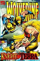 Wolverine - Knight of Terra Graphic Novel - First Printing - August 1995 (407)