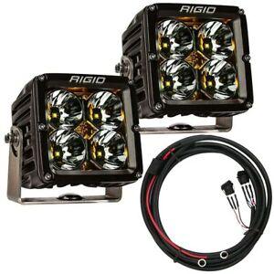 Rigid Industries® Radiance Pod XL LED Lights Pair (Amber Backlight) w/Harness