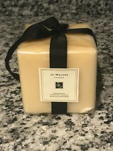 """Jo Malone London Grapefruit Square Candle 4""""x4"""", 1.6 NEW AS IS"""