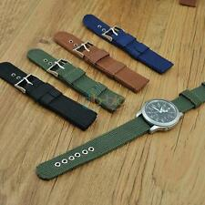 Pop Men Playful Infantry Military Wrist Army Nylon Canvas Strap Band for WatchLE