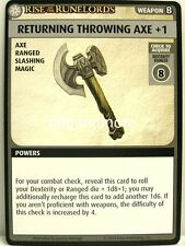 PATHFINDER Adventure Card Game - 1x sentíte throwing AXE +1 - Rise of the
