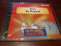 MUSIC MAESTRO KARAOKE 6205 ELVIS BY REQUEST CD+G OOP SEALED