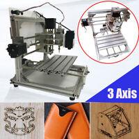 3Axis GRBL CNC Router Engraver Engraving Machine Desktop Carving Cutter DIY Kit