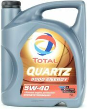HUILE de Synthese TOTAL 5W40 Essence et Diesel 9000 Energy 5L
