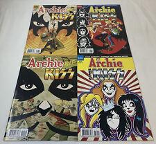 ARCHIE MEETS KISS comics #627 628 629 630 ~ FULL SET