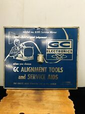 Antique Gc Electronics Tools And Service Sign
