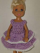 Handmade Chelse/Kelly mattel doll clothes - Light Purple