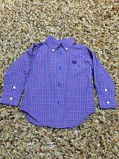 Chaps 2T Shirt Long Sleeved Button Up