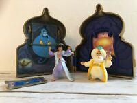 Vintage Disney Aladdin - Jasmine Palace House Playset - 1993 Mattel with figures