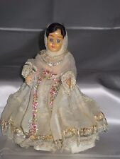 Collectible Vintage Doll in Wedding Garb. Eyes Open & Close Plastic.