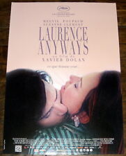LAURENCE ANYWAYS Xavier Dolan Melvil Poupaud Suzanne Clément SMALL belgianPOSTER