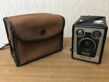 Vintage Brownie Six-20 Model D Camera With Case