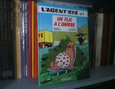 L'AGENT 212, n°7 : Un Flic à l'Ombre - Kox & Cauvin - BD - Jeunesse - Humour