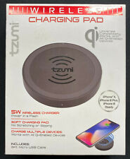 Tzumi WIRELESS CHARGING PAD / CHARGER iPhone X 8 8 Plus Universal All Qi Devices