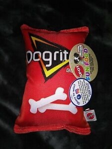 *NEW* SPOT FUN FOOD *DOGRITOS BONES*  TOY BAG OF CHIPS FOR DOGS