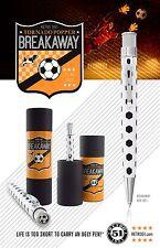 ROLLERBALL PEN BLACK WHITE SOCCER BALL DESIGN RETRO 51 BREAKAWAY TORNADO XRR16P1