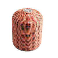 Multifunktions Schutz BehäLter für Gas Kanister Handgefertigte Aufbewahrung S2H7