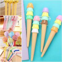 6Pcs Fashion Cute Colorful Cartoon Ball Pen Office School Supply Stationery New