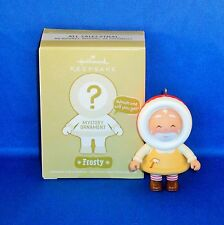 Hallmark - 2011 Mystery Ornament Frosty Toymaker Santa - Keepsake Christmas  NEW