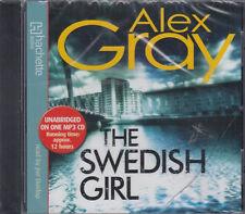 Alex Gray The Swedish Girl MP3 CD Audio Book NEW* Unabridged Lorimer 10 FASTPOST