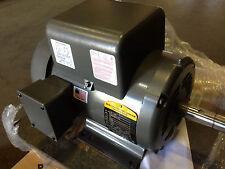 NEW SURPLUS 5 HP, 1 PHASE BALDOR ELECTRIC MOTOR