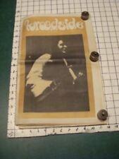 Original - THE BROADSIDE feb 12-23 1968 Boston counter culture newspaper MUSIC