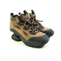 Womens Z-Coil Hiking Boots Size 7 Black Brown Pain Relief Comfort Shoes