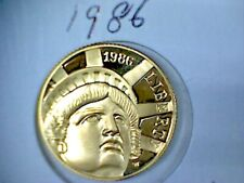 1986 Gold Statue of Liberty Commemorative $5.00 Gold Coin