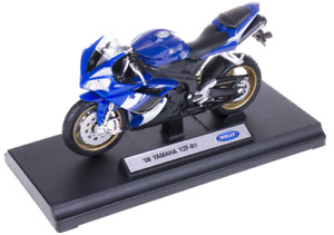 WELLY,Moto YAMAHA YZF-R1 2008 bleue,WELY19660PWH
