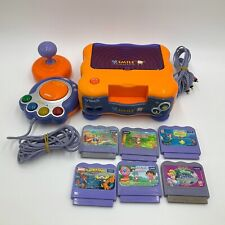 VTech Vsmile TV Learning System Console 1 Controller & 6 Games *WORKING*