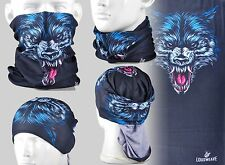 Wolf Coyote A194 Tubular Headscarves Bandana Scarf Mask Cycling