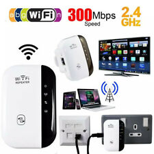 2.4GHz 300Mbps WiFi Range Extender Signal Booster Router Repeater WPA Wireless