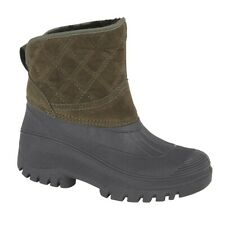 LADIES SIZE 3 4 5 6 7 8 BLUE GREEN WIDE TOP WELLINGTONS WELLIES WELLY BOOTS