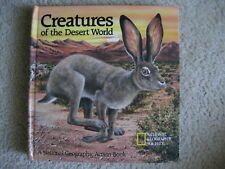 Creatures of the Desert World Pop-Up Hc by National Geographic Society Staff