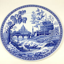 """Spode England Rome Blue Room Collection 7.5"""" Plate Georgian Series Blue White UK"""