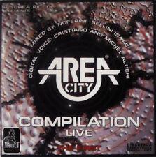 """""""Area City Live Compilation"""" CD 1996 Techno Trance Progressive"""