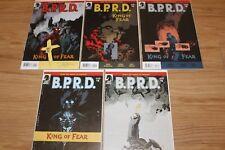 BPRD: King of Fear #1-5 NM complete series MIKE MIGNOLA HELLBOY SERIES