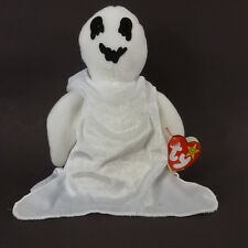 TY BEANIE BABIES White Ghost SHEETS 1999 Mint with Tags