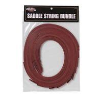 "Weaver Leather Tack Repair/Replacement 3/8 x 72"" Latigo Saddle String 12 Pack"