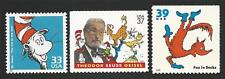 The Cat in the Hat Fox in Sox Dr. Seuss Suess Theodor Geisel Book US Stamps MINT