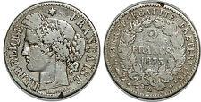 2 FRANCS 1873 A CERES  F.265