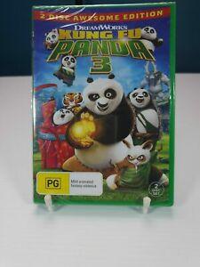 Kung Fu Panda 3 DVD Region 4 Animation Kids Family