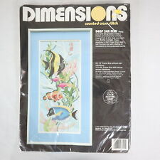 Full Drill Diamond Painting Kit Like Cross Stitch Tropical Fish Sea DIY ZY254D